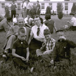 Cub Scout trip to Fort Dix, May, 1960.